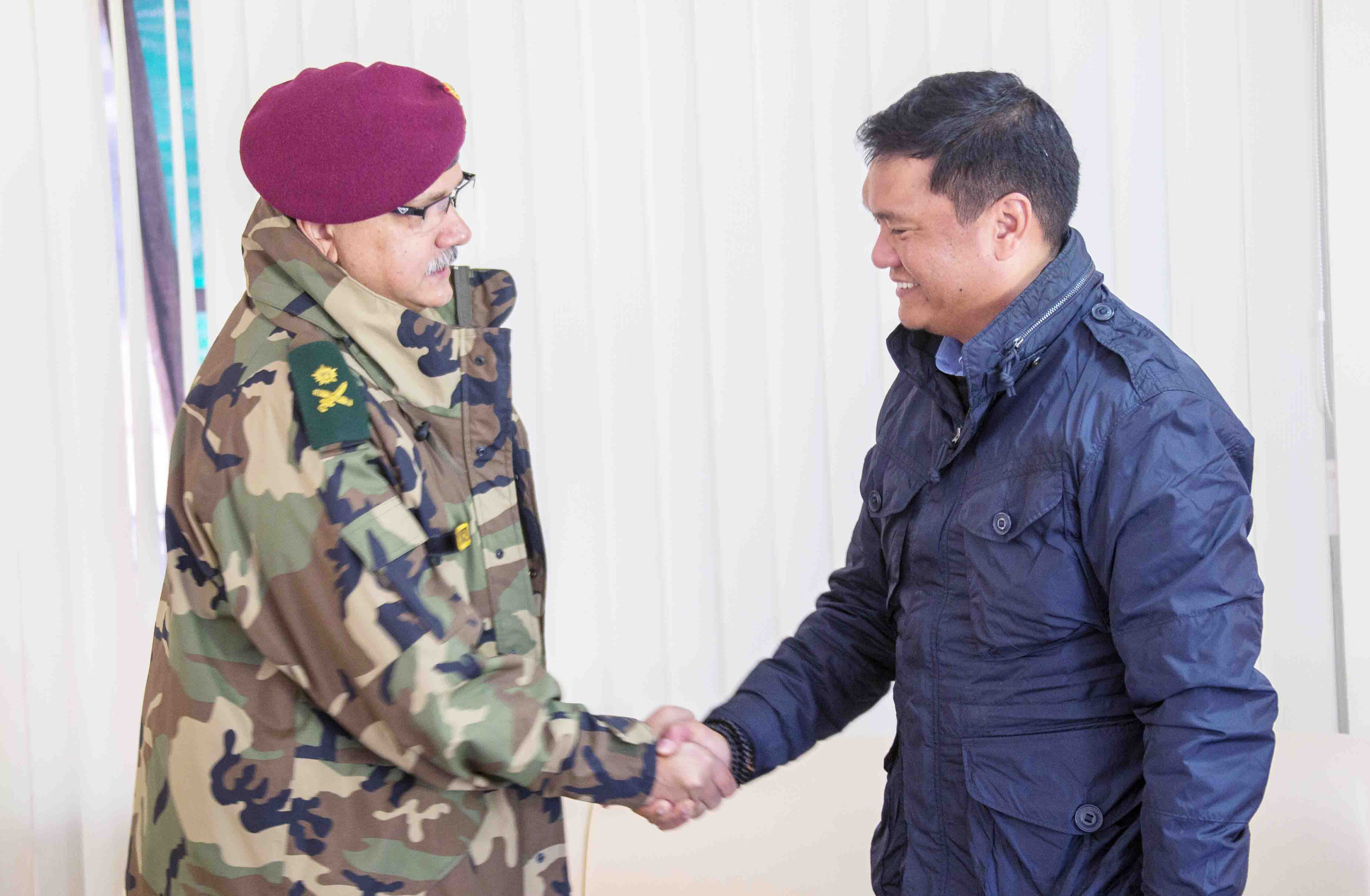 Army relations